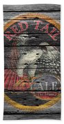Red Tail Beach Towel