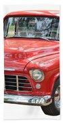 Red Truck Beach Towel