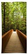 Redwood Bridge Beach Towel