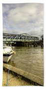 Reedham Swing Bridge  Beach Towel