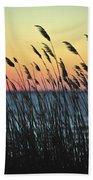 Reeds At Sunset Island Beach State Park Nj Beach Towel