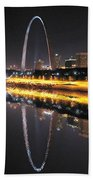 Reflected St. Louis Beach Towel