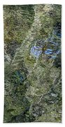Reflection Art Beach Towel by Roxy Hurtubise