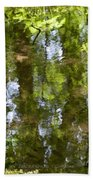 Reflection Of Woods Beach Towel