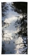 Reflection On Sweet Water Strand Beach Towel