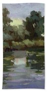 Reflections Duwamish River Beach Towel