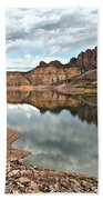 Reflections In The Blue Mesa Beach Towel