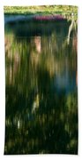 Reflections Of Colours  Beach Towel