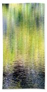 Reflections Of Fall 3 Beach Towel
