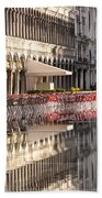 Reflections Of Saint Mark's Square -day Beach Towel