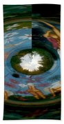 Reflections Of You Beach Towel
