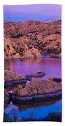 Reflective Good Morning Beach Towel