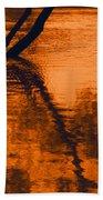 Reflectivity Beach Towel