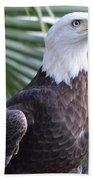 Regal Eagle Beach Towel