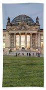 Reichstag Berlin Germany Beach Towel