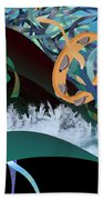 Rejoice In The River Beach Towel