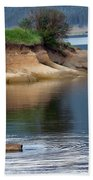 Relaxed Fisherman Beach Towel by Robert Bales