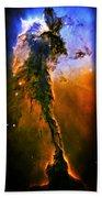 Release - Eagle Nebula 3 Beach Towel