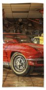 Relics Of History - Corvette - Elvis - Nehi Beach Towel