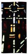 Religious Symbols In Glass Beach Towel