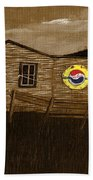 Remember When - Old Pepsi Sign Beach Towel
