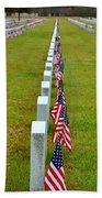 Remembering Veteran's Day Beach Towel