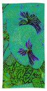 Remembrance Flowers Beach Towel