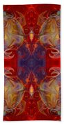 Repeating Realities Abstract Pattern Artwork By Omaste Witkowski Beach Towel