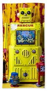 Rescue Robot Beach Towel