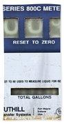 Reset To Zero Beach Towel