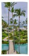 Resort In Dominican Republic Beach Towel