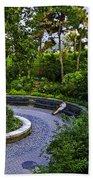 Respite - Carl Schurz Park 2 - Manhattan - New York Beach Towel