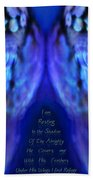 Psalm 91 Wings Beach Towel