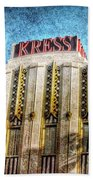 Retro Kress Beach Towel