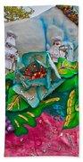 Rex Mardi Gras Parade II Beach Towel