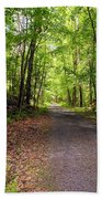 Wooded Path 12 Beach Towel