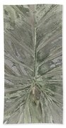 Rhododendron Leaf Beach Towel