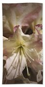 Rhododendron Mary Fleming Beach Towel