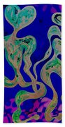 Rhythmic Attraction Beach Towel