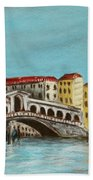 Rialto Bridge Beach Towel