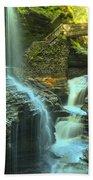 Rainbow Falls Watkins Glen Beach Towel