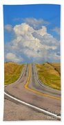 Ribbons Of Time Beach Towel