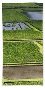Rice Paddies Beach Towel