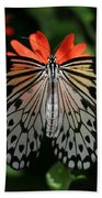 Rice Paper Butterfly Elegance Beach Towel