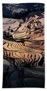 Rice Terrace Field Of Yuan Yang Beach Towel