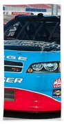 Richard Petty Driving School Nascar  Beach Towel