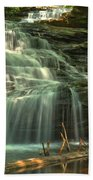 Ricketts Glen Shawnee Waterfall Beach Towel