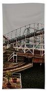 Ride The Roller Coaster Beach Sheet