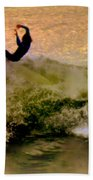 Riding High Beach Towel by Karen Wiles