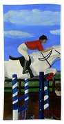Riding The Wind Beach Towel